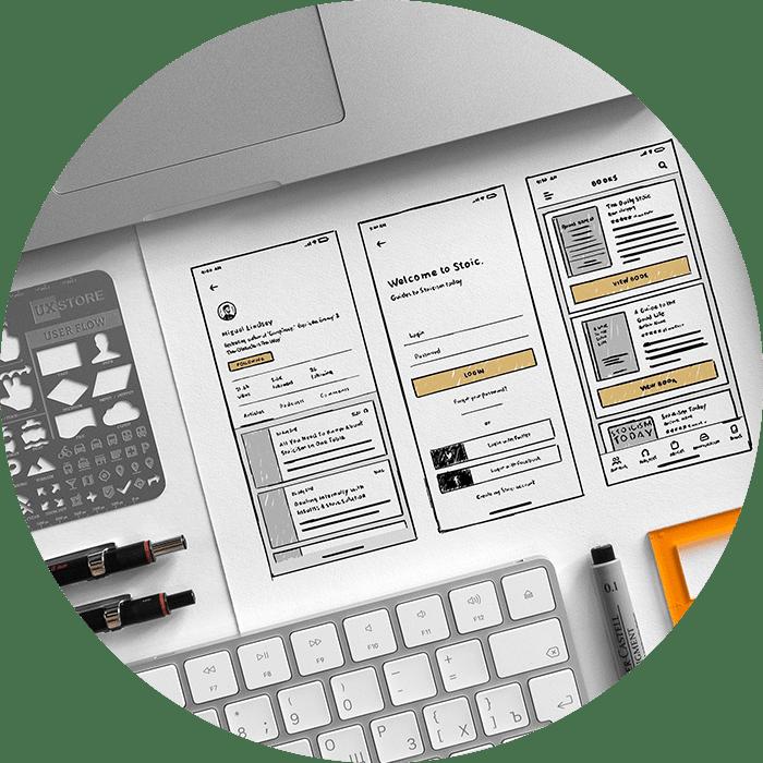 wireframe your ecommerce website design